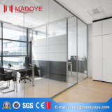 Дверь стеклянной перегородки Гуанчжоу для пользы офиса