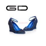 Chaussures de scintillement de chaussures de robe de Gdshoe pour des cales d'usager
