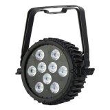 옥외 9X15W 6in1 LED 동위 IP65