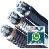 XLPE Non-Blindé a isolé le câble engainé par PVC d'alliage d'aluminium