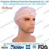 Protezione Bouffant non tessuta variopinta dei pp/protezione della calca/protezione della clip/protezione/dottore Cap/protezione medici Qk-Bc002 dell'infermiera