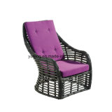 PE рамки мебели фабрики Foshan софа Handmade напольного алюминиевого Wicker двойная