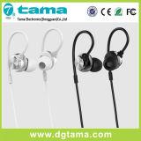 De zwarte Witte Oortelefoons van Earbuds van het Aluminium met Mic/Ver voor iPhone/iPad