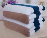 100%年の綿によって除去される編む浴室/ビーチタオル