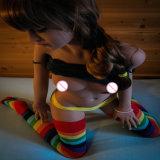 Ein-Cup kleine Liebes-Puppe-realistisches Geschlechts-Spielzeug der Brust-erwachsene Geschlechts-Produkt-140cm