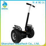Scooter électrique d'équilibre de mobilité de la roue 18km/H de remorquage