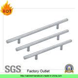 Punho contínuo da mobília do aço inoxidável de tomada de fábrica ou punho do gabinete (T 135)