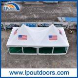 tente en aluminium extérieure de crête élevée d'impression de logo de bâti de 6X12m