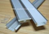 6063 LED-Streifen-Aluminiumprofil mit PC Cover/LED Streifen-Profil