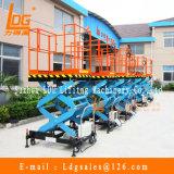 Kundenspezifische bewegliche hydraulische Scissor Aufzug-Plattform (SJY0.3-1)
