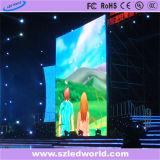 Colore completo locativo dell'interno P5 che fonde sotto pressione il video schermo della parete del LED per la pubblicità (CE, RoHS, FCC, ccc)