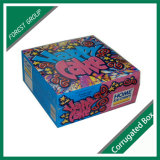 Caja del alimento colorido de helado hecho en casa