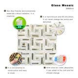 De gemengde Tegels van de Vloer van de Badkamers van het Mozaïek van het Glas van de Keuken van het Restaurant van de Kleur Openlucht