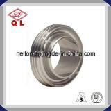 Instalación de tuberías masculina de la unión sanitaria del acero inoxidable