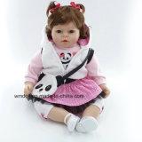 """20 """" juguetes renacidos de la casa del juego de niños del vinilo del silicón de la muñeca de la muchacha"""