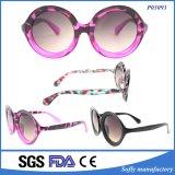 Niedriger Preis brannte polarisierte Spiegel-komprimierende Sonnenbrillen ein