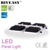 la parrilla de 24W 2*2 enciende el panel del LED con la luz del panel de Ce&RoHS LED