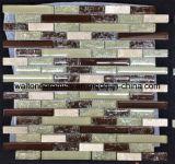建築材料の氷の一流のガラスそして石の単連続写真