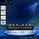 6*12W 4in1 RGBWのクリー族LEDs 6移動ヘッドストリップの段階棒照明