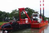 14inch携帯用川の砂のカッターの吸引ポンプ浚渫船