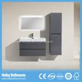 Moderne Art-Badezimmer-Möbel mit 2 u-Form-Fächern und Größen-Schrank (BF338D)