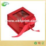 De stijve Doos van de Gift van het Lint van het Karton Vlakke voor Kleren (ckt-cb-1055)