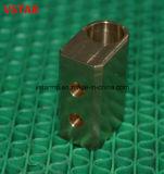 Piezas de cobre amarillo que trabajan a máquina del CNC del hardware de los accesorios de la alta precisión