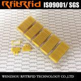 Etiqueta a prueba de accidentes impermeable de la paleta de la frecuencia ultraelevada Impinj M4 RFID para el almacén