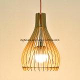 Lámpara de madera creativa de la bóveda de DIY