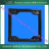 Garniture plate faite sur commande de catégorie comestible de silicones