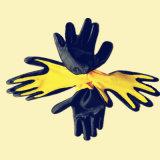 вкладыш полиэфира 13G, перчатки серого нитрила цвета Coated