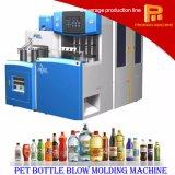 halbautomatische haustier-Flaschen-Blasformen-Maschine 4 Kammer-2000bph Plastik