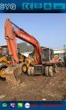 Excavatrice sur roues Hitachi Ex160W d'occasion à vendre