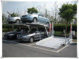 Meccanizzato inclinando l'elevatore di parcheggio dell'automobile