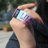Wristbands elásticos atléticos de la insignia de encargo especial del diseño