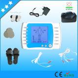 휴대용 소형 의료 기기 2 채널 통신로 전자 펄스 허리 통증 마사지 기계