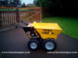 Caricatore popolare del giardino/mini scaricatore con 4 rotelle