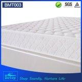 OEM comprimido delgado colchón de 20 cm con capa de espuma suave y tela de punto de cachemira