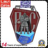 リボンが付いている工場安い価格のカスタムメダル