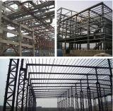 Structure d'entrepôt de constructeur de la Chine, construction en acier de bonne qualité, acier Vent-Résistant de Grand-Envergure structural