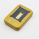 Free Logo Water Proof 8g Dtse9 USB Flash Drive (ouro, prata)
