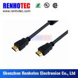 Rechtwinkliger und gerader HDMI Verbinder