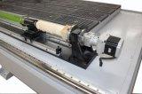 Estaca 1325 de madeira do Woodworking do router do CNC & máquina de gravura com dispositivo giratório