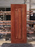 Puerta exterior, puerta de madera sólida, puerta de entrada
