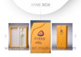 Luxury Packaging CASE MDF Gold Leather Rectangle Wine Box