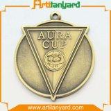 Médaille personnalisée de placage d'antiquité de différence avec la bande