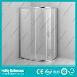 Porte coulissante en aluminium avec verre stratifié trempé (SE901C)