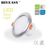 5W 2.5 свет 3CCT интегрированный водителя Ce&RoHS освещения дюйма СИД Downlight высокий
