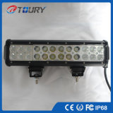 차 트럭 모는 점화 두 배 줄 72W LED 표시등 막대