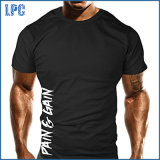 T-shirt de formation de motivation de culturisme de gymnastique du Mens MMA